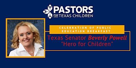 Celebrating Public Education Breakfast: Senator Beverly Powell tickets