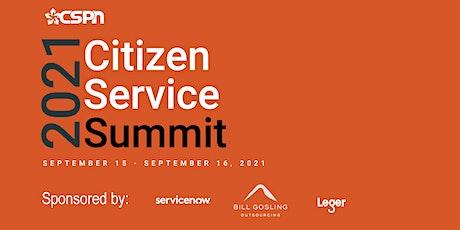 2021 Citizen Service Summit tickets