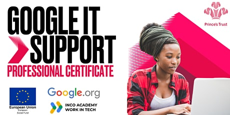Google  IT Support Professional Certificate- Leicestershire tickets