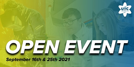 UTC Warrington Open Events - September 16th & 25th tickets