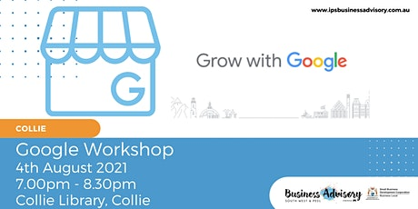 Google - How to be found. tickets