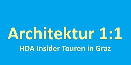 Architektur 1:1 mit Petra Kickenweitz Tickets