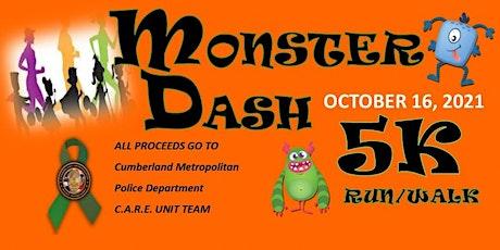 MONSTER DASH 5K WALK/RUN ; tickets