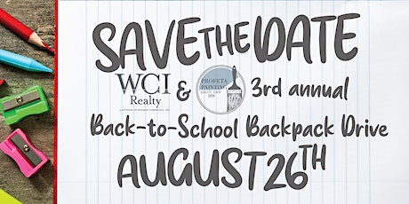 3rd Annual Back-to-School Backpack Drive tickets