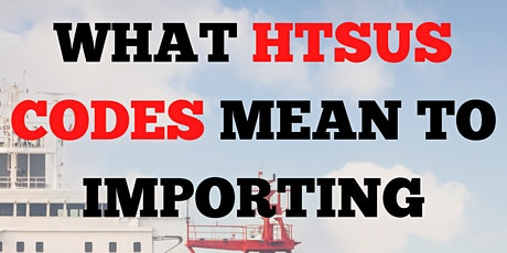 Agate Solutions -What HTSUS Codes Mean To Importing Goods - Classification tickets