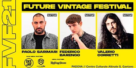 NXTGN con BARENGO // Future Vintage Festival 2021 biglietti