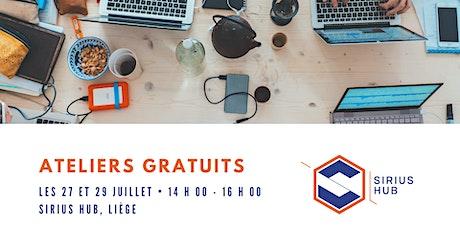Gratuit : Atelier inclusif aux métiers du numérique ! Inscription requise ! billets