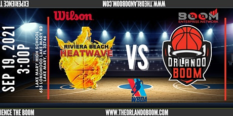Riviera Beach Heatwave vs. Orlando Boom (2019 WBDA Ring Ceremony) tickets