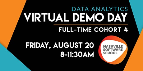 NSS Virtual Demo Day: Data Analytics Full-time Cohort 4 tickets