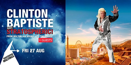 Comedy evening with Clinton Baptiste tickets
