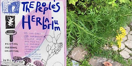 People's Herbarium Walk tickets