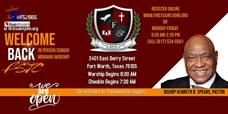 Berry Sunday Morning Worship tickets