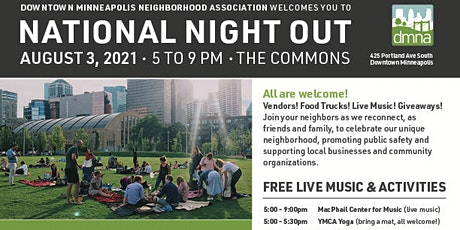 NATIONAL NIGHT OUT DOWNTOWN MINNEAPOLIS tickets