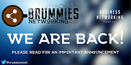 Brummies Networking Post-Covid Relaunch tickets