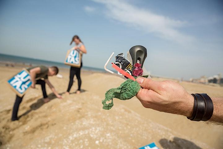 Afbeelding van Grondstofjutters Beach cleanup @ Scheveningen (World Cleanup Day)