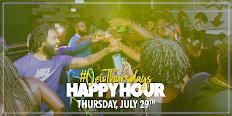 #OzioThursdays Happy Hour tickets