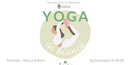 Yoga in Bianco biglietti