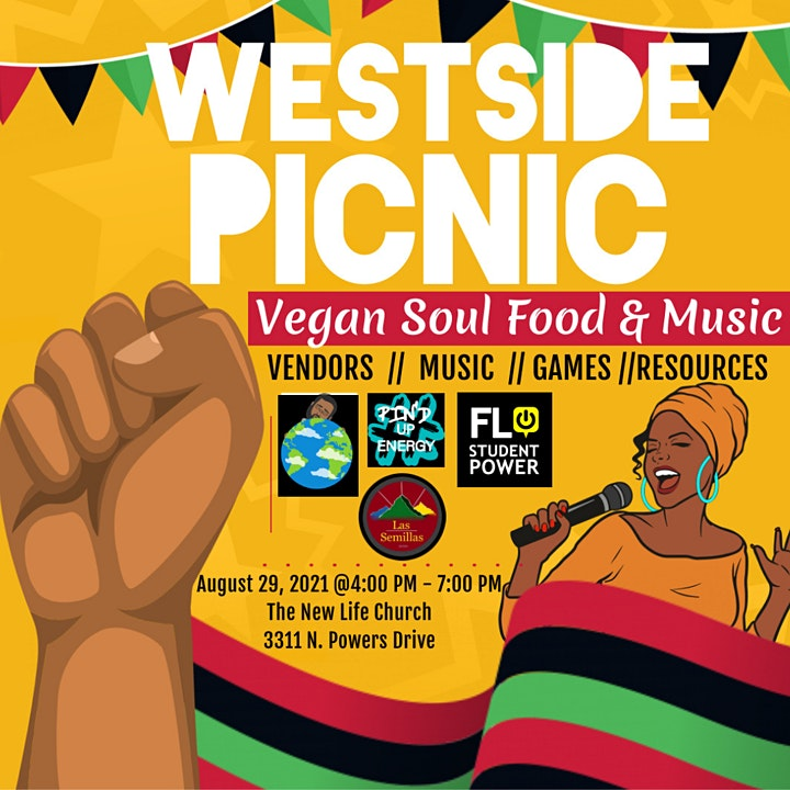 Westside Picnic: Vegan Soul Food and Music image