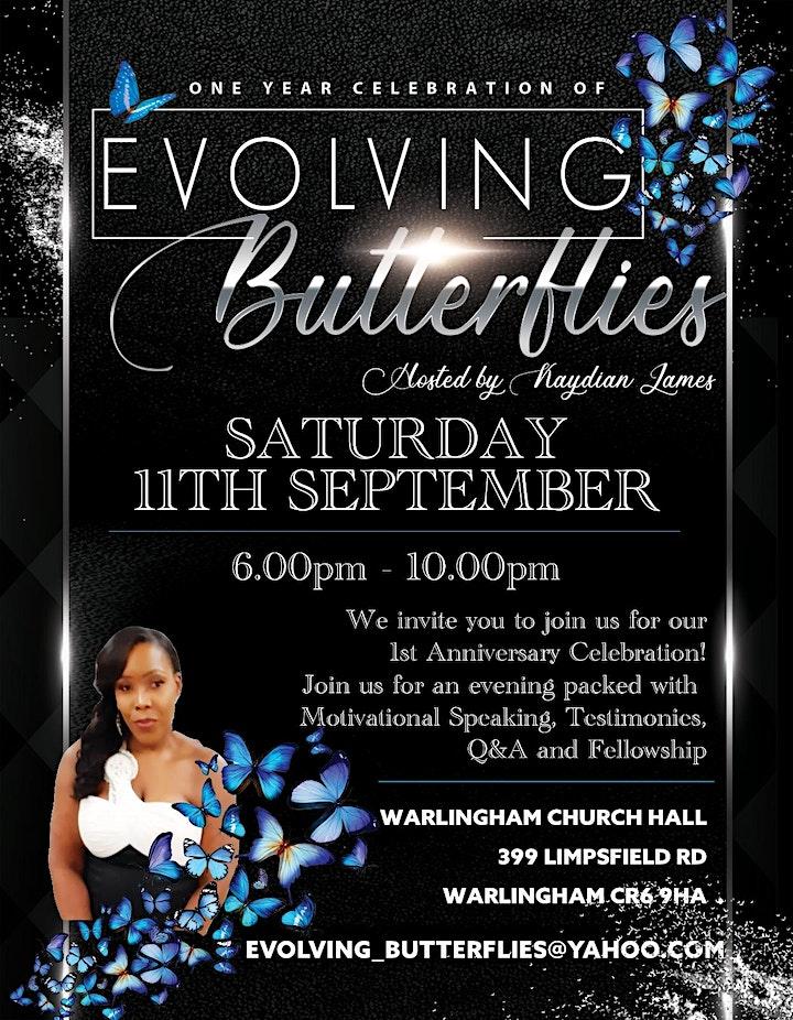 Evolving Butterflies 1st Anniversary Celebration image