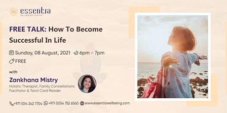 Free Talk: How to become successful in life with Zankhana Mistry tickets
