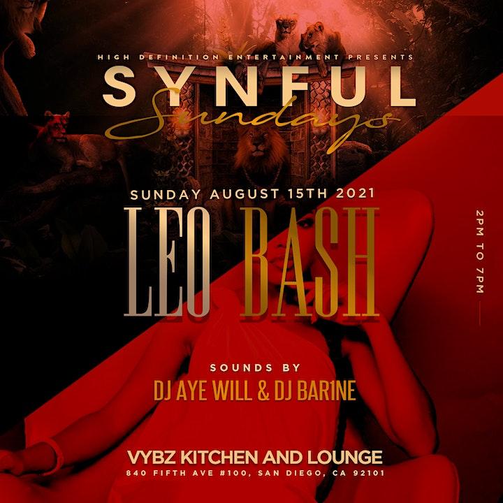 SYNFUL SUNDAYZ : LEO BASH image
