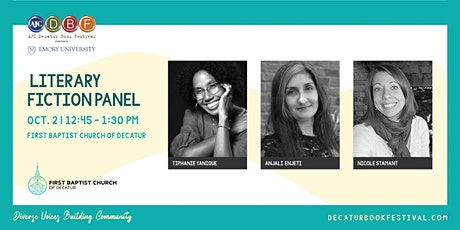 Literary Fiction Panel with Tiphanie Yanique and Anjali Enjeti tickets