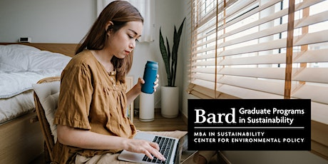 Bard Graduate Programs in Sustainability - August 2021 Online Info Session tickets