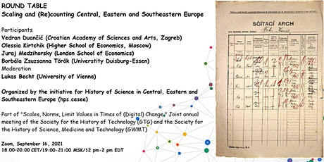 Scaling and (Re)counting Central, Eastern and Southeastern Europe tickets