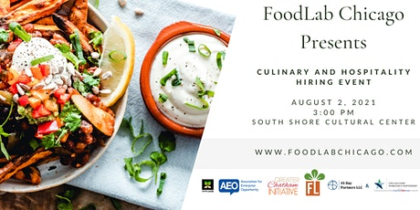 FoodLab Chicago Culinary and Hospitality Hiring Event tickets
