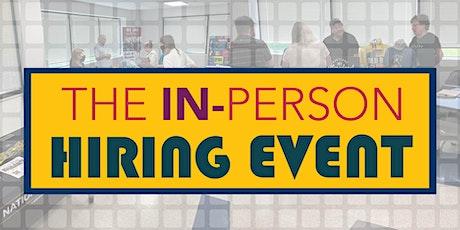 In-Person Multi-Company Hiring Event tickets