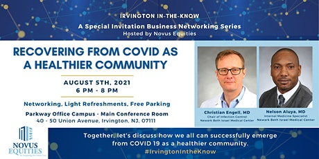 Recovering from COVID as a Healthier Community tickets