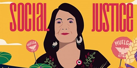 Dolores Huerta with County Executive Angela D. Alsobrooks tickets