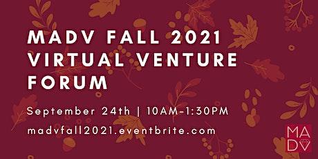 Mid-Atlantic Diamond Ventures Fall 2021 Virtual Venture Forum tickets