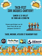 Taco-Fest sur Jacques-Cartier tickets