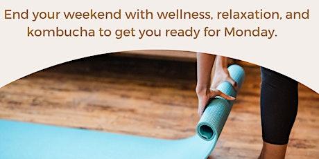 Yoga + Kombucha tickets