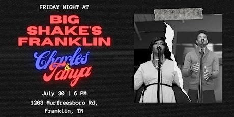 Charles & Tanya Harris LIVE @ Big Shake's Franklin tickets