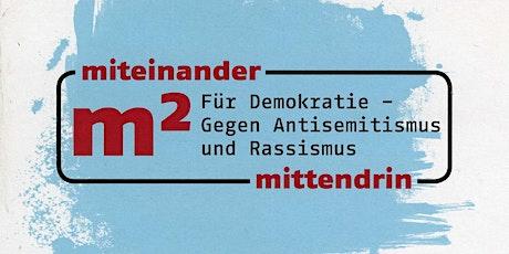 """Workshop """"Antisemitismus erkennen und begegnen"""" Tickets"""