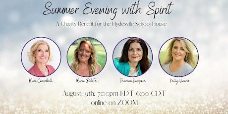 Summer Evening with Spirit tickets