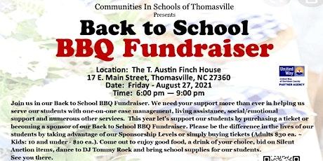 Back to School BBQ Fundraiser tickets