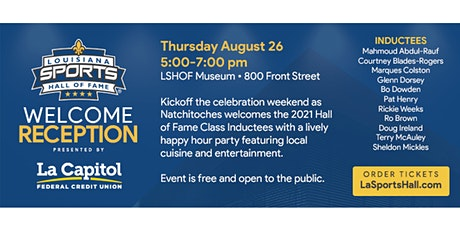 2021 LSHOF Welcome Reception presented by La Capitol Federal Credit Union tickets