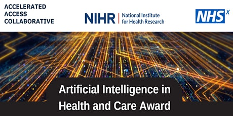 AI Award funding for innovations in social care tickets