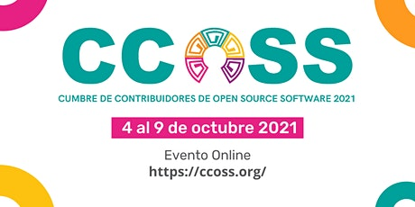 Cumbre de Contribuidores de Open Source Software (CCOSS) 2021 entradas