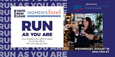 Run As You Are powered by Women's Fund of Rhode Island tickets