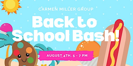 Back to School Bash! tickets