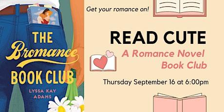 Read Cute Book Club:  The Bromance Book Club by Lyssa Kay Adams tickets