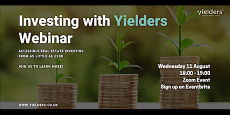 Investing with Yielders - Webinar tickets