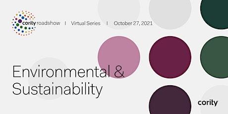 Cority's Virtual Roadshow Series: Environmental & Sustainability tickets