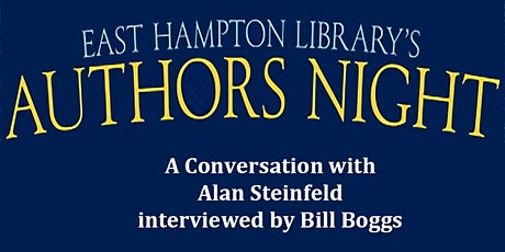 Authors Night  - A Conversation with Alan Steinfeld tickets