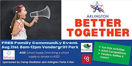 Arlington Better Together Bash tickets