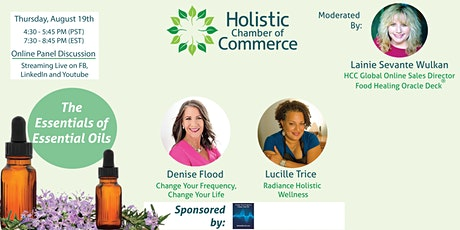 Community Education Panel ~ The Essentials of Essential Oils tickets